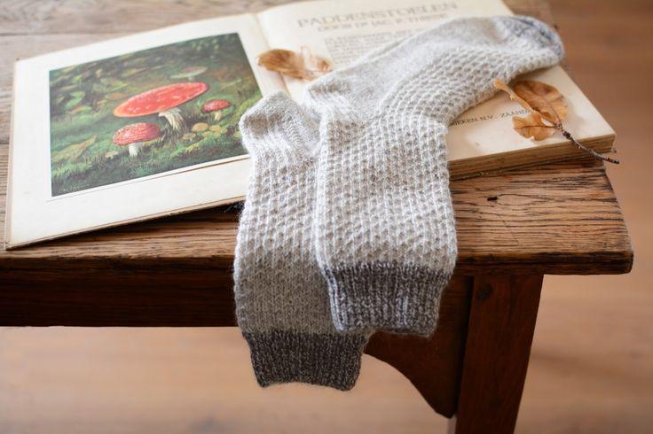 lovely knitted socks...