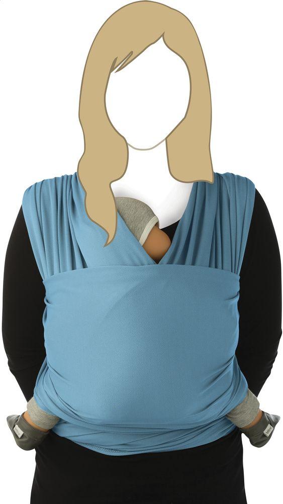 L'écharpe de portage Tricot Slen Cool est idéal pour le portage en été. Votre petit bout s'y sentira toujours bien au frais.