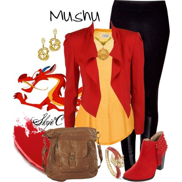 Disney Challenge - Day 11 - Favorite Animal Sidekick - Mushu (Mulan)