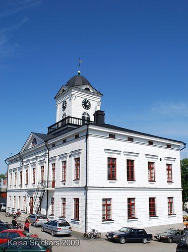 City Hall Kristiinankaupunki, Ostrobothnia province of Western Finland.- Pohjanmaa - Österbotten