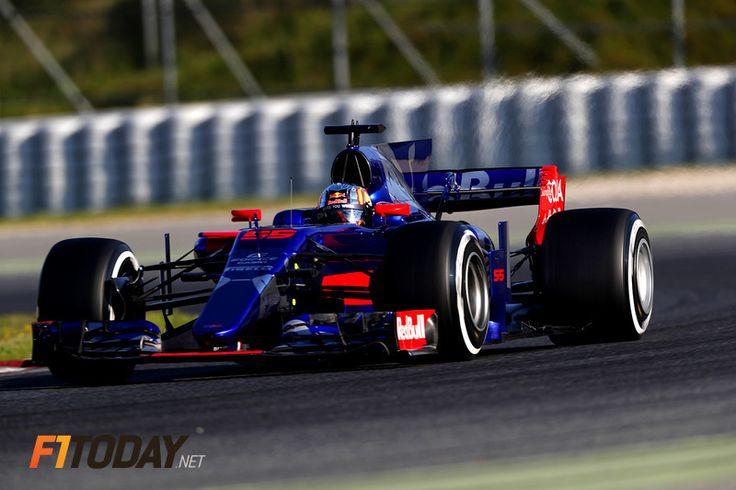 Carlos Sainz, Toro Rosso STR12 - Renault (2017)