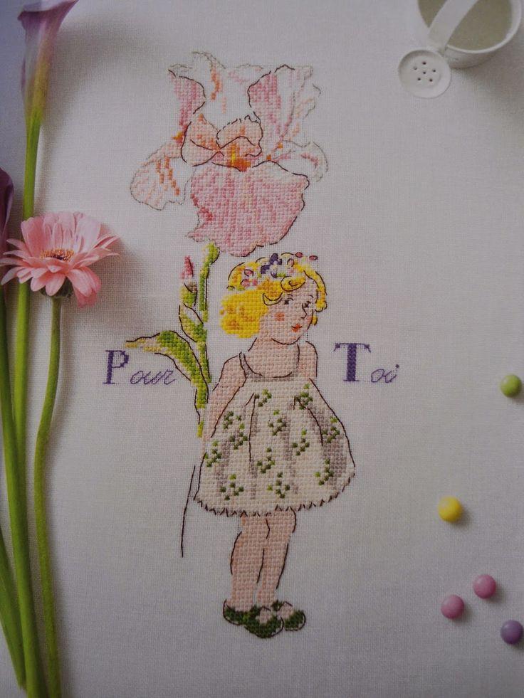 Moje Hand Made: Le langage des fleurs - Helene Le Berre