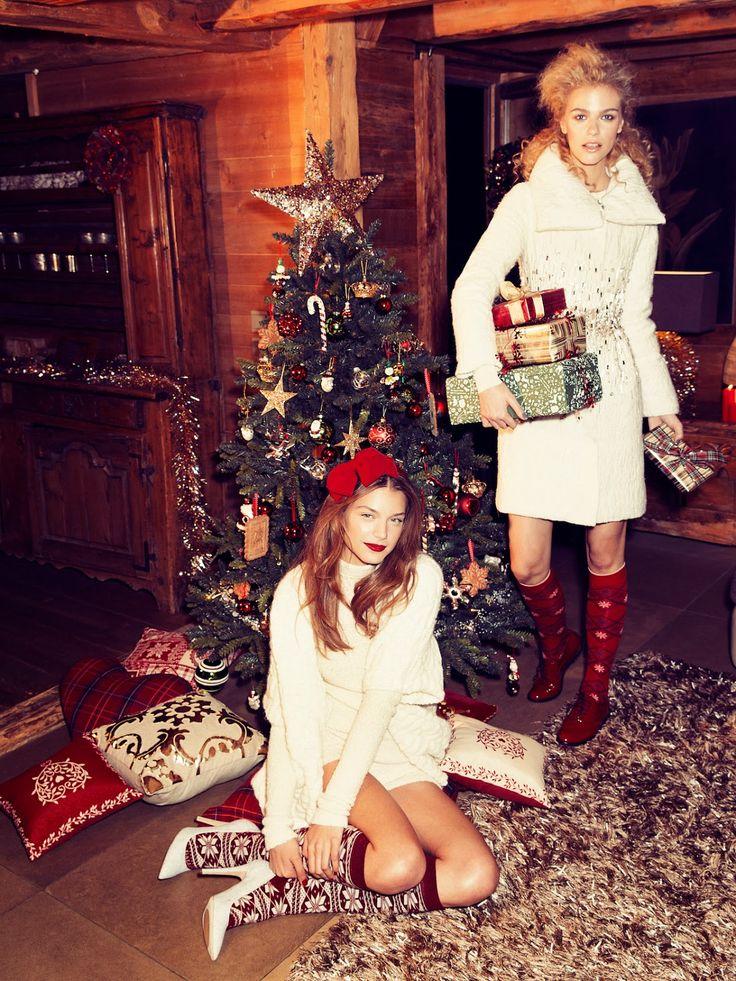 Fashion Feed : Merry Christmas By Vanity Fair Italia 27th December 2013