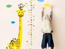 New Wandtattoo Kinder Me latte Gr e Giraffe Affe