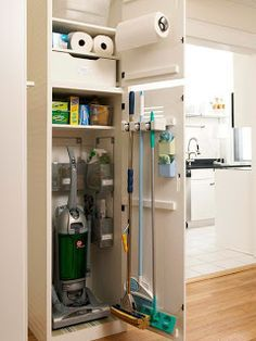Building a Home - Laundry Room by TalesofaPeanut - Great idea for the pantry I have in the laundry room