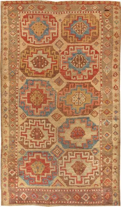 Antique Konya Turkish Rug 45018 Main Image - By Nazmiyal