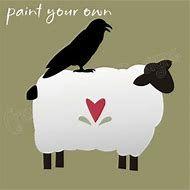 Image result for Free Printable Primitive Sheep Pattern