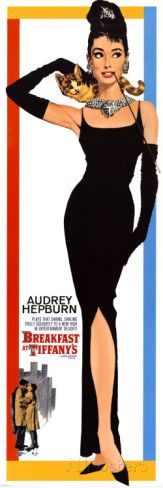 Breakfast At Tiffany's- Audrey Hepburn Poster at AllPosters.com