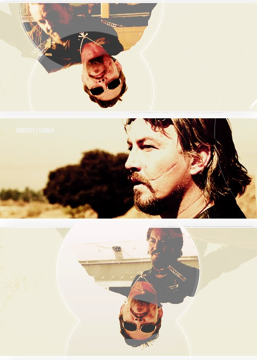 """boredyet: 30 Days of Sons of Anarchy ► Day 2 ► Favorite Sons Character ↳ Filip """"Chibs"""" Telford (to Kerrianne) """"Hey, no one's ever going to hurt my baby. I'll make sure of that"""""""