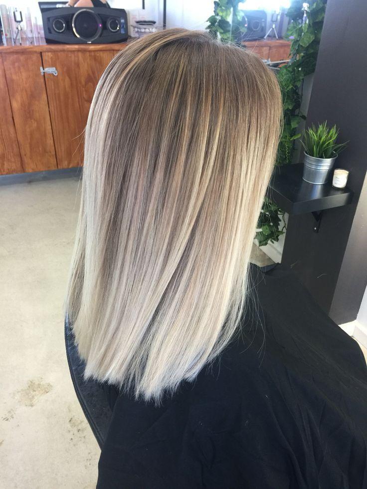 Freehand Frisuren Freehand Frisuren Beliage Hair Ombre Hair Blonde Blonde Hair Looks