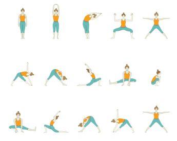 45 minute yoga  yin yoga sequence moon salutation yoga