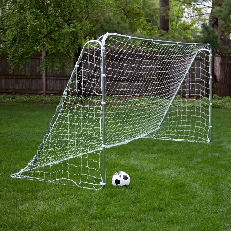 Franklin Tournament Steel Portable Soccer Goal - 12' x 6' - 5680