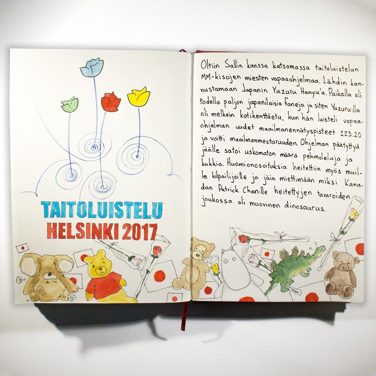 From sketchbook of Petri Fills #sketchbook #drawing #taitoluistelu
