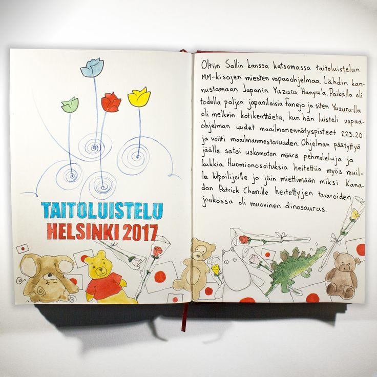 From sketchbook of Petri Fills #sketchbook #drawing #taitoluistelu