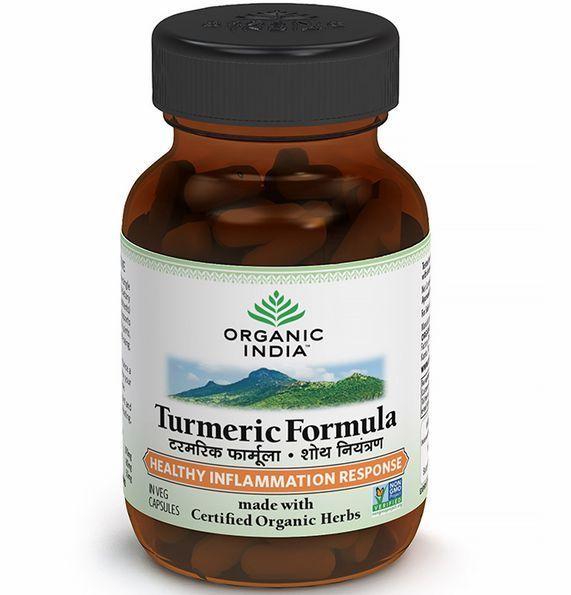 10 X Organic India Turmeric Formula - 60 Capsule / Pack - Fast Shipping #OrganicIndia