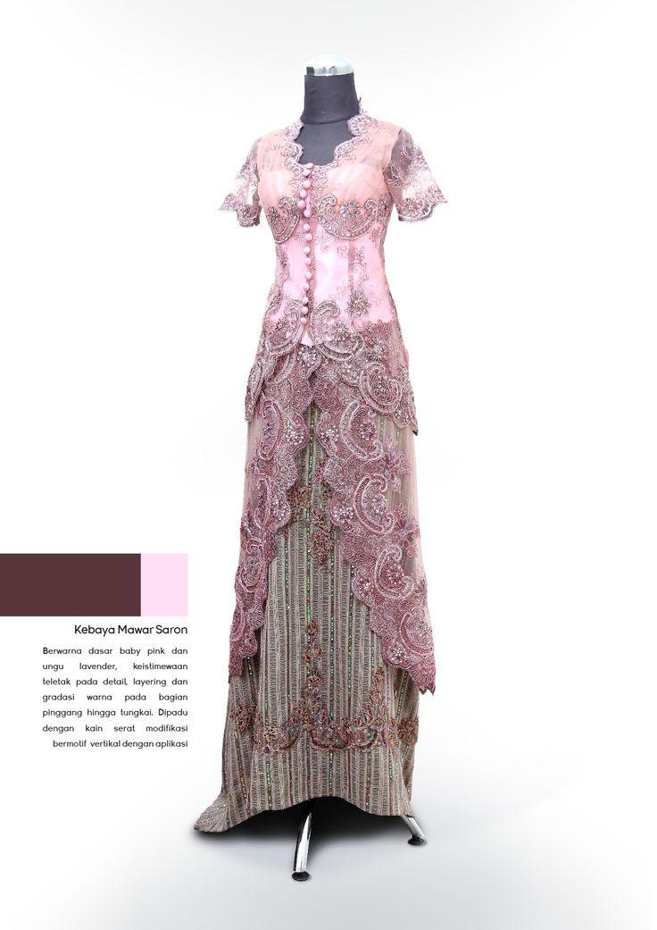 Kebaya Mawar Saron #kebaya #traditional