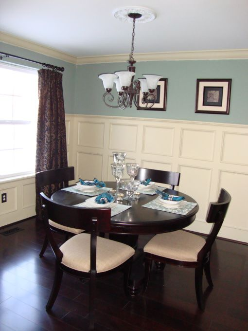 Teal dining room ideas elegant dining room dining room for Teal dining room decorating ideas