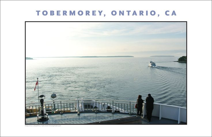 Chi-cheemaun Ferry, Manitoulin Island, Ontario, Canada, Collection #519
