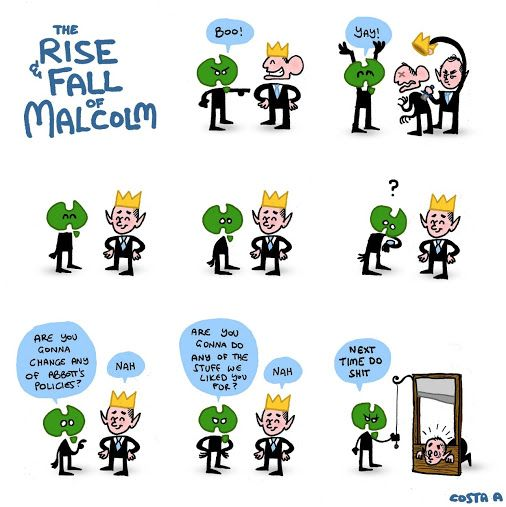 the rise and fall of malcolm