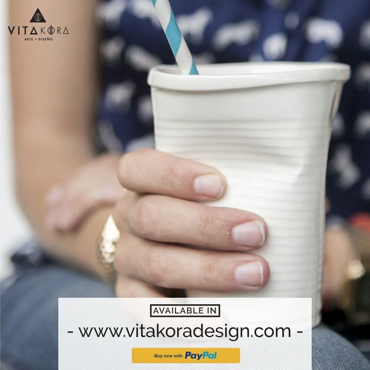 Don't confuse these #glasses with disposable glasses! Six glasses for you, your people and a good afternoon #coffee. But be careful, you can also use them for cold #drinks!!. www.vitakoradesign.com #LaBestial#ceramics#céramique#design#diseño#fun#beautiful#paypal