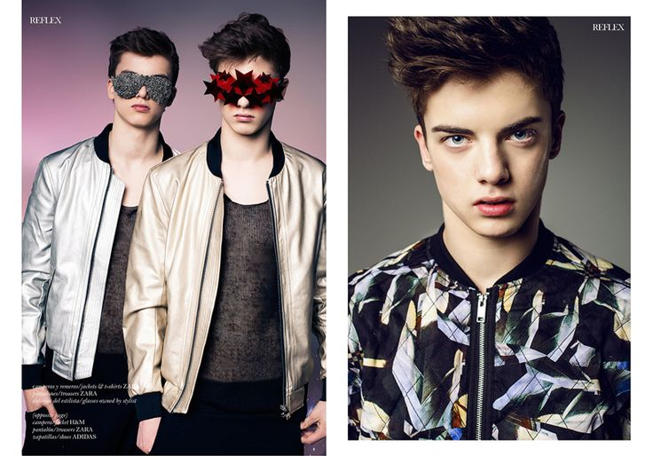Twin Brothers Dominik & Rafael Starmach for Reflex Homme image Duo Games 004