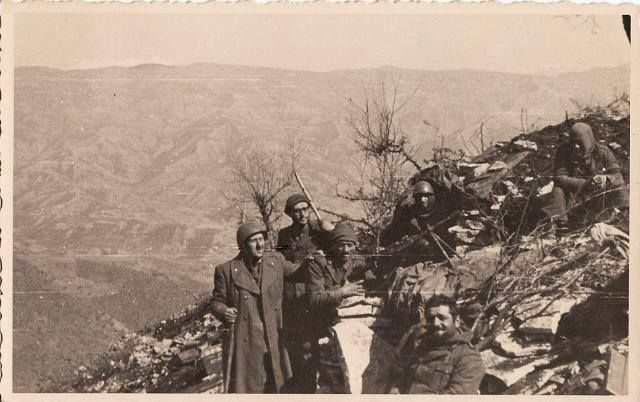 Divisione Pinerolo a Quota 731 - Fronte greco-albanese 1941.