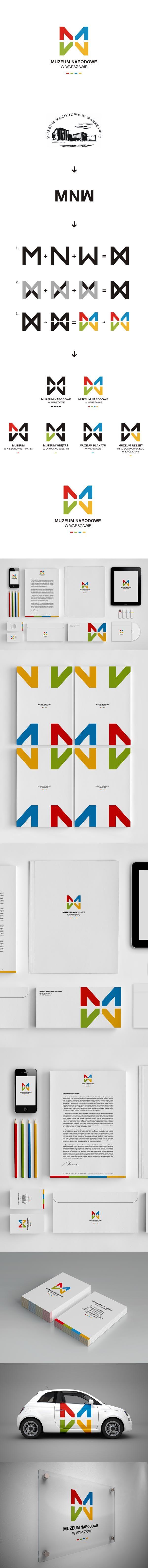 Muzeum Nadorowe branding #design #corporate #identity #branding #visual