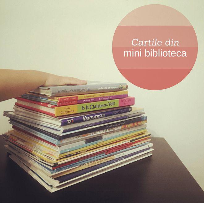 Se împlinesc cam 2 ani de când am început să adun cărți în mica biblioteca a lui A. și observ de la o lună la alta cum rafturile destinate cărților devin tot mai neîncăpătoare, deși cărțile stau aruncate pentru tot – prin camera lui, pe noptierele noastre, prin pat, pe sub pat, prin mașină, pe…