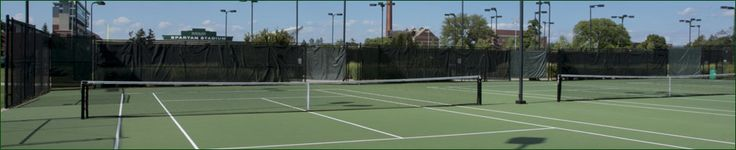Michigan State Official Athletic Site - Facilities - MSU Outdoor Tennis Courts