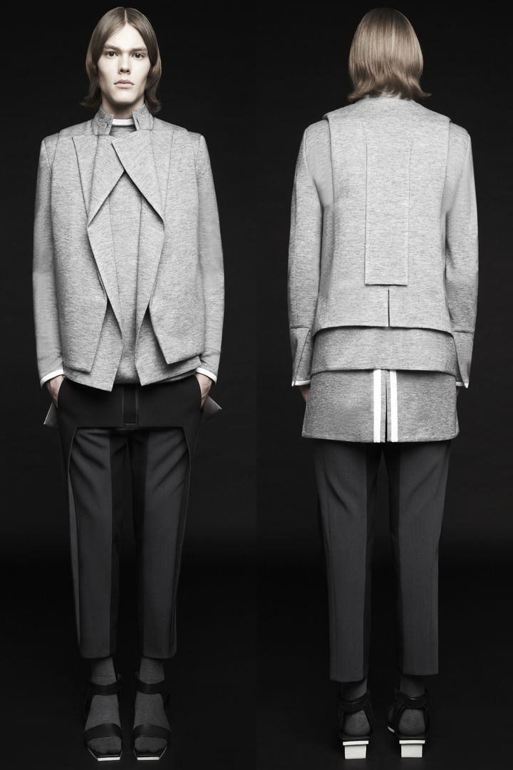 Rad by Rad Hourani's newest collection is yet another example of how timeless, unisex and black are the reigning staples in the modern person's wardrobe. Modesty is played with high collars, latent...