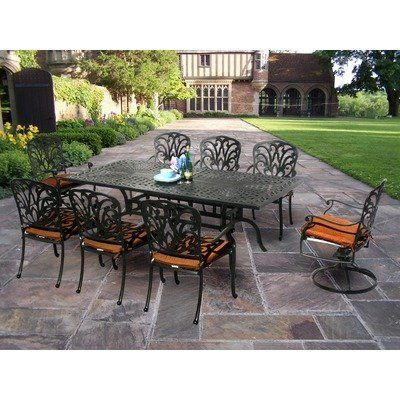 Perfect Patio Dining Set   Practical Function Goes Hand In Hand With Streamlined,  Contemporary Elegance To Lend The Oakland Living Hampton 84 X 42 In. Design Inspirations