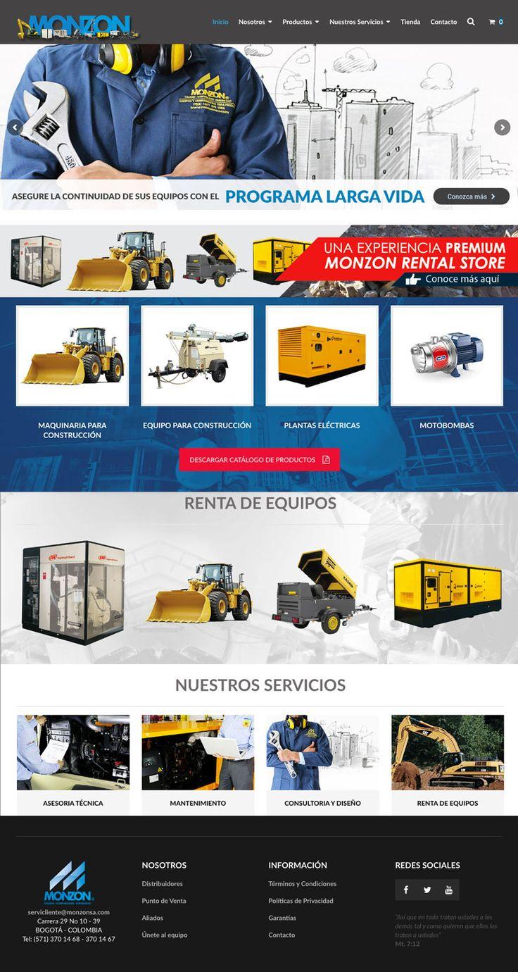 Sitio web / Catálogo en Línea :  Monzon SA