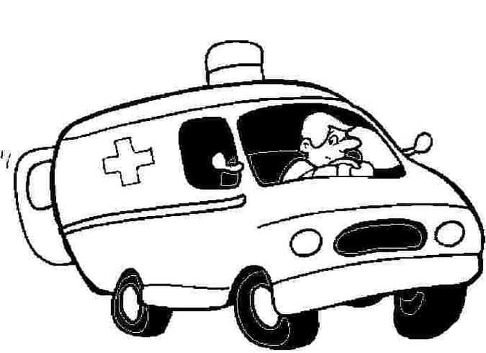 Free Printable Coloring Pages Ambulance In 2020 Monster Truck Coloring Pages Free Printable Coloring Pages Barbie Coloring Pages