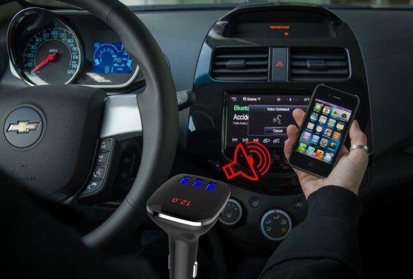 MonMll, un'azienda che sinceramente non avevo mai sentito prima, con questo trasmettitore FM da auto è riuscita a trovare una valida soluzione a chi...