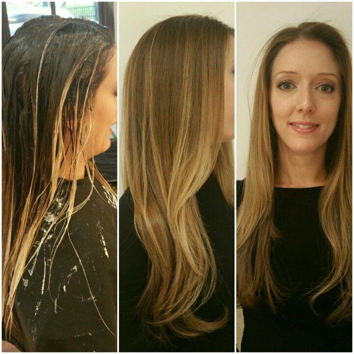 Balyage results! #balyage #hairbyalicia