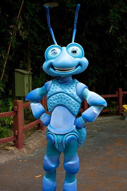 Disneyland Aug 2009 Meeting Flik By Peterpanfan Via