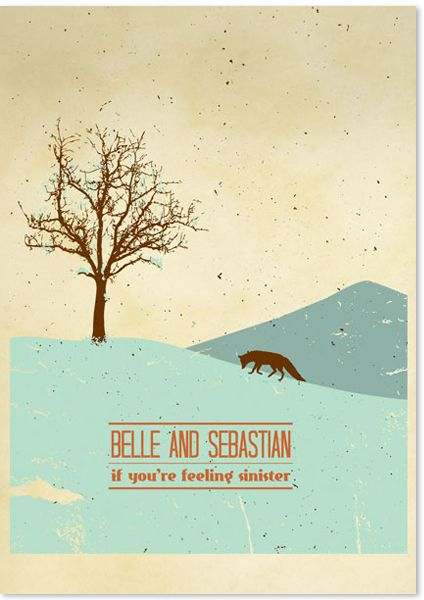 belle and sebastian, if you're feeling sinister