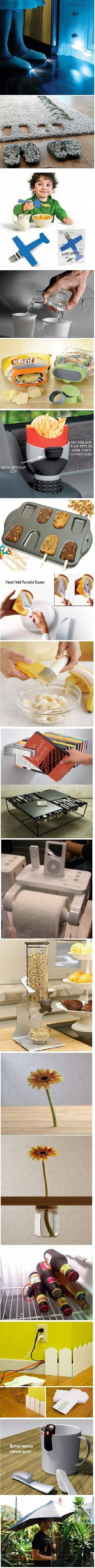 Simple but brilliant ideas.