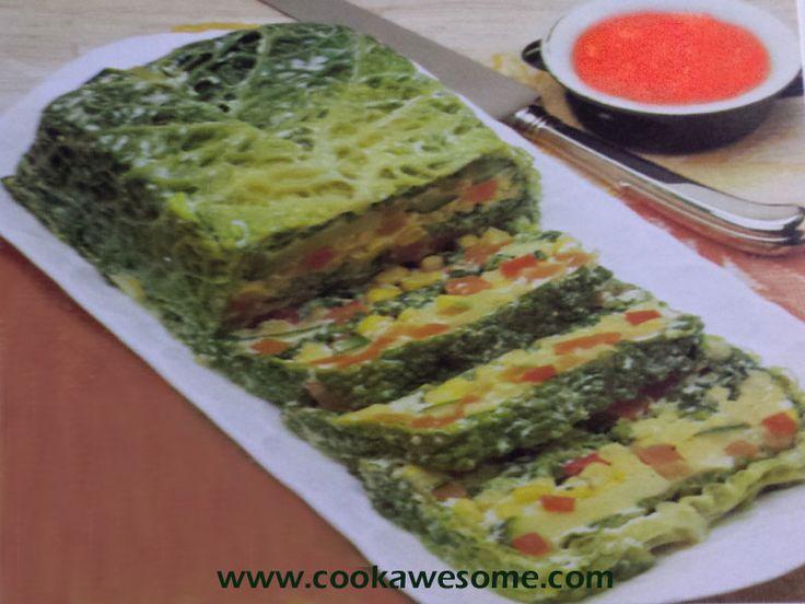 Vegetable Terrine Recipe in 2020 | Vegetable terrine ...