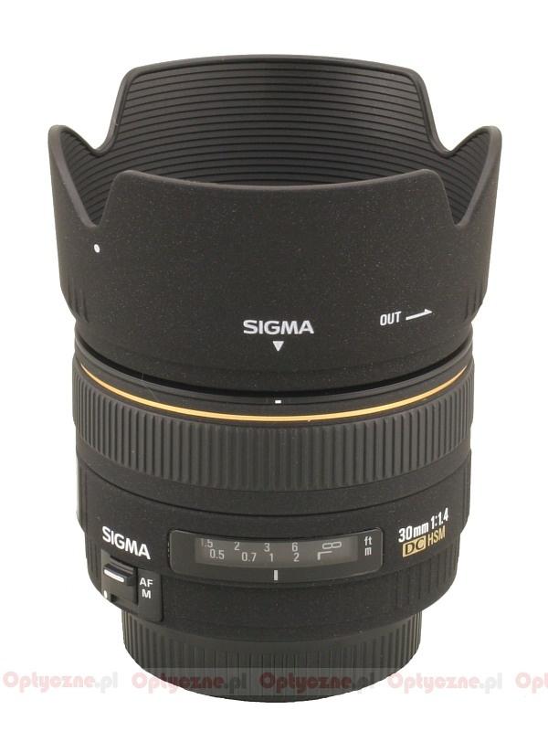 Sigma 30 mm f/1.4 EX DC HSM