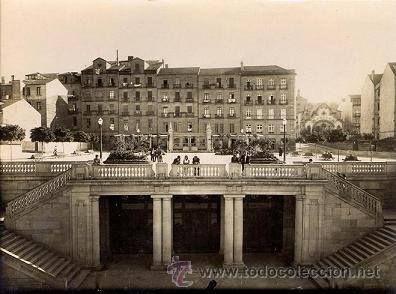 Plaza de Portugal. Foto: Archivo Pacheco.