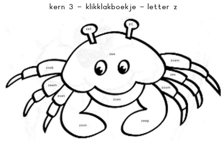 Kern 3 - klikklakboekje - letter z