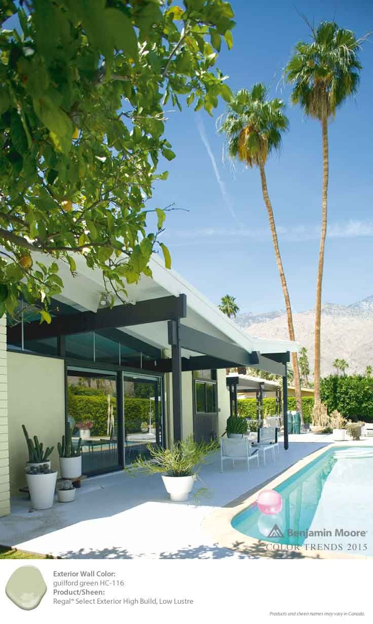 Guilford green is the perfect washed out color to - Benjamin moore swimming pool paint 042 ...