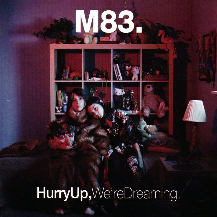Caratula Frontal de M83 - Hurry Up, We're Dreaming