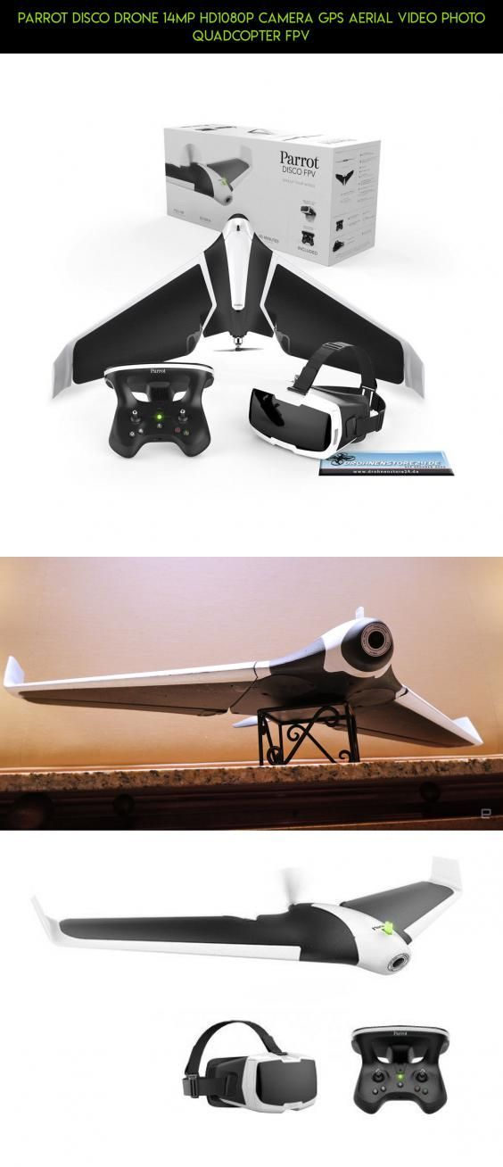 Parrot Disco Drone 14MP HD1080p Camera GPS Aerial Video Photo Quadcopter FPV #technology #parrot #video #parts #gadgets #camera #drone #shopping #kit #products #tech #fpv #racing #plans #drone