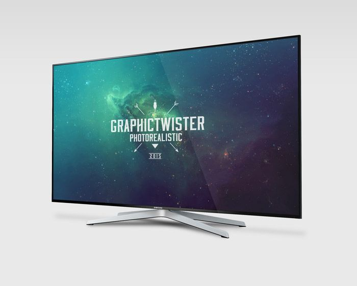 Free Samsung Smart Tv Mockup (58.7 MB) | Graphic Twister