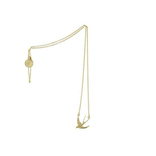 Image of SWALLOW CHAIN GOLD
