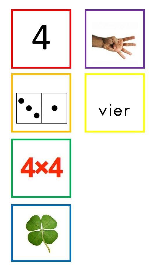 * Cijferkaarten! 4-10
