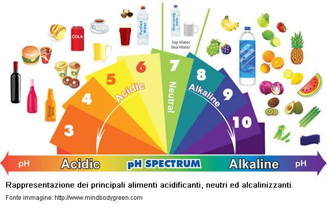 PRAL - Alimenti acidificanti ed alimenti alcalinizzanti