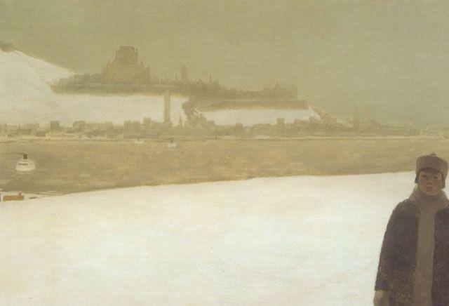 Jean-Paul Lemieux, Janvier à Québec, 19xx